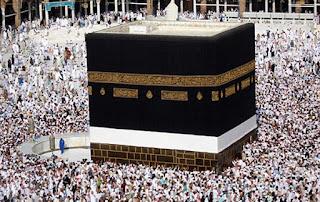 Kaaba edificio a forma cubica posto al centro del recinto della Mecca