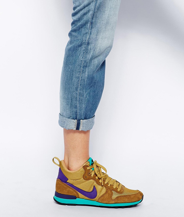Cool new model of Nike sneakers, street style model