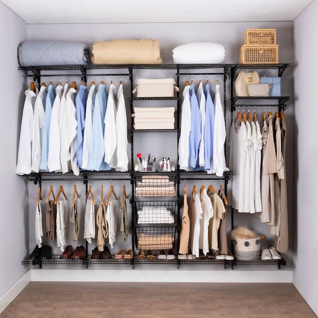 Armário aramado kit 50 - Closet ou quarto