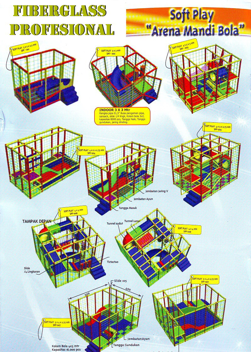 Arena Mandi Bola_Soft Play Equipment