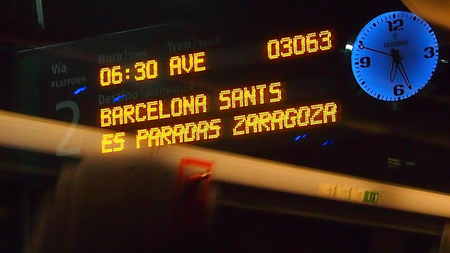AVE Madrid-Barcelona