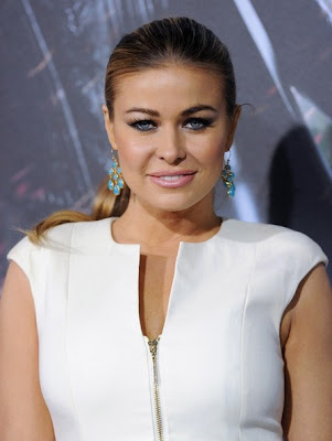 Carmen Electra Ponytail Hairstyle Lookbook