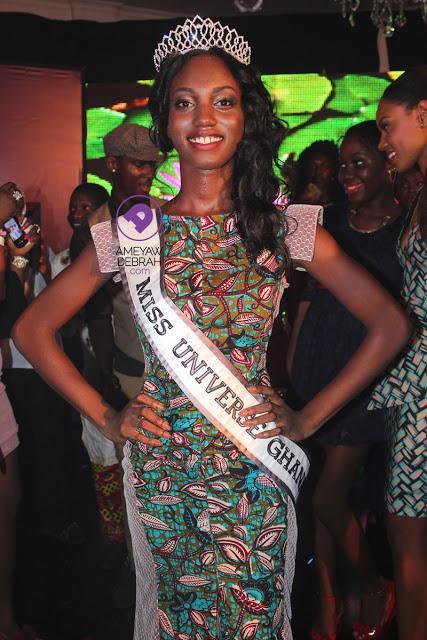 Miss Universe Ghana 2013 winner Hanniel Jamin