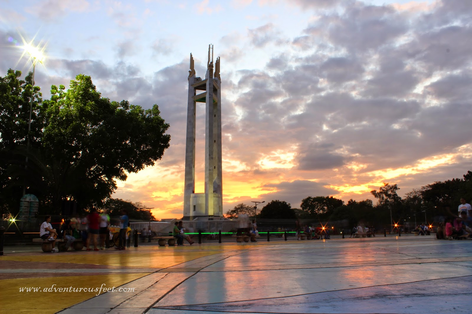 Adventurous Feet Quezon City Photowalk At Up Diliman And Quezon City Circle