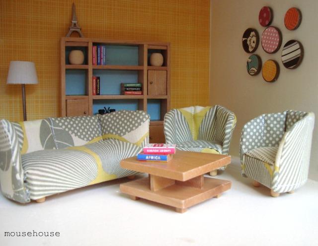 Una casa de mu ecas con estilo casa haus decoraci n - Decoracion de casas de munecas ...