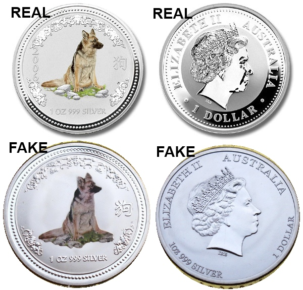 Fake Counterfeit Silver Lunar Coins On Ebay Beware