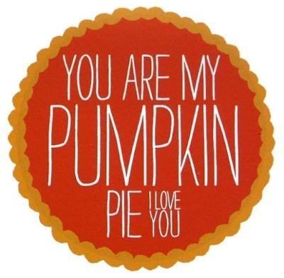 Pumpkin Pie Print from Friends Again