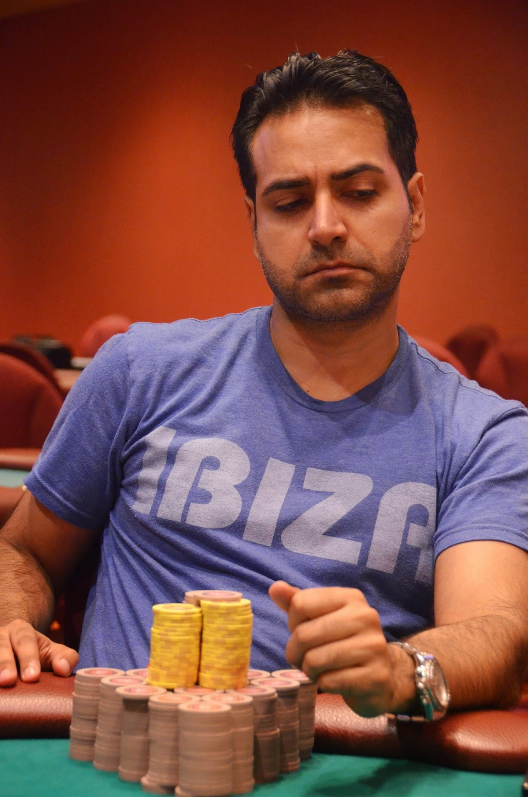 Parx big stax vii big stax 500 day 3 5th place pahuja 18 020 for Parx poker room live game report