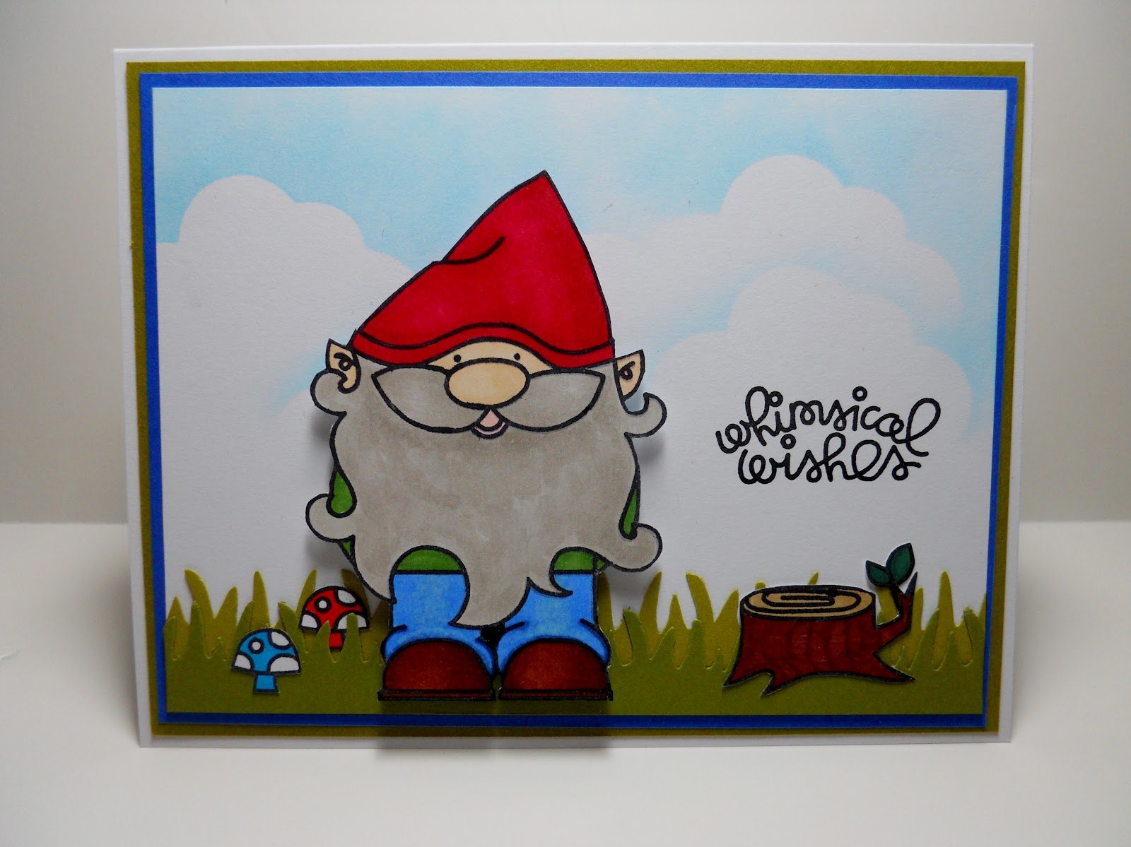 The everyday stamper happy birthday gnome card happy birthday gnome card bookmarktalkfo Image collections