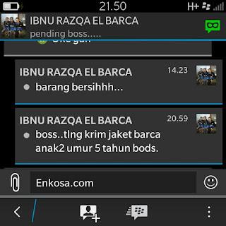 gambar screenshot testimoni ibnu di enkosa sport toko online pakaian bola terpercaya lokasi di jakarta tanaha abang