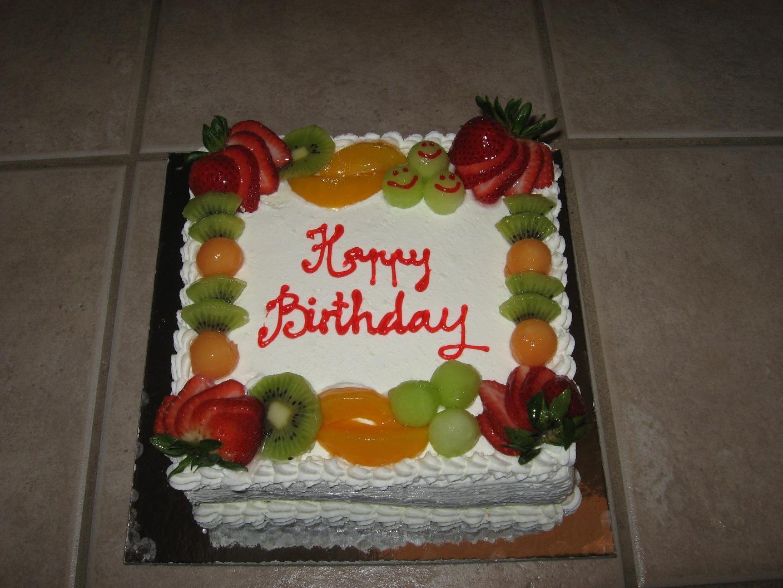 Cake Decorated With Fruits Pinterest : Yummy Cakes: D orange Cake