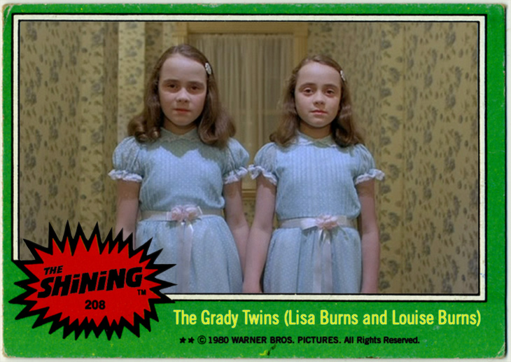 The Shining 'Trading Cards'