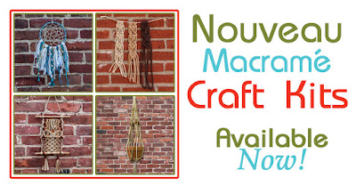 Learn to macrame today: Easy Kits available now!