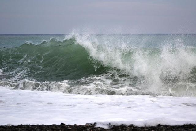 Море. Алушта. Конец октября