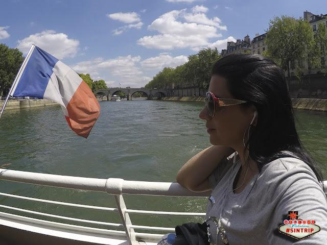 Dia 22: Paris (França) - Subindo na Torre Eiffel e navegando pelo Rio Sena