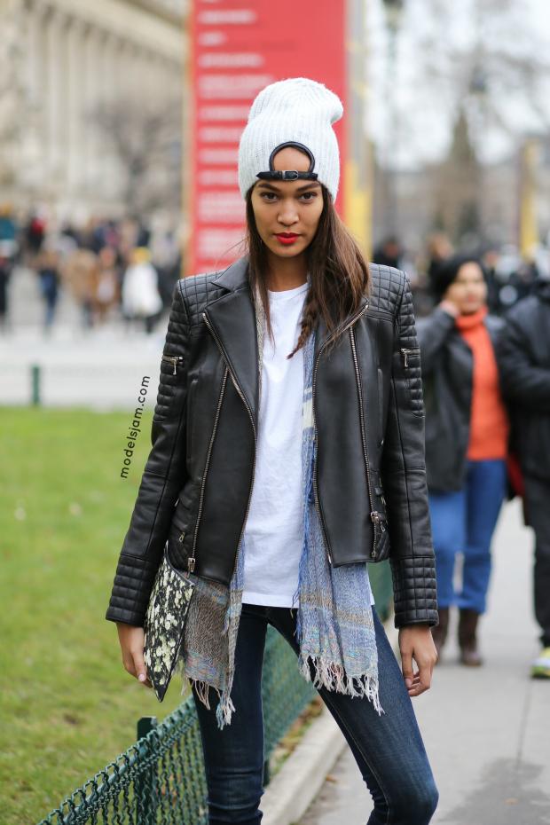 Joan Smalls, Paris January 2015