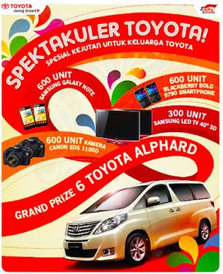 Promo Astra : Spektakuler Toyota 2012
