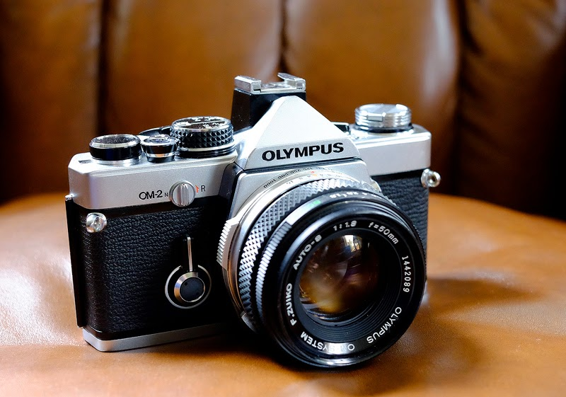 The rather beautiful Olympus OM-2n