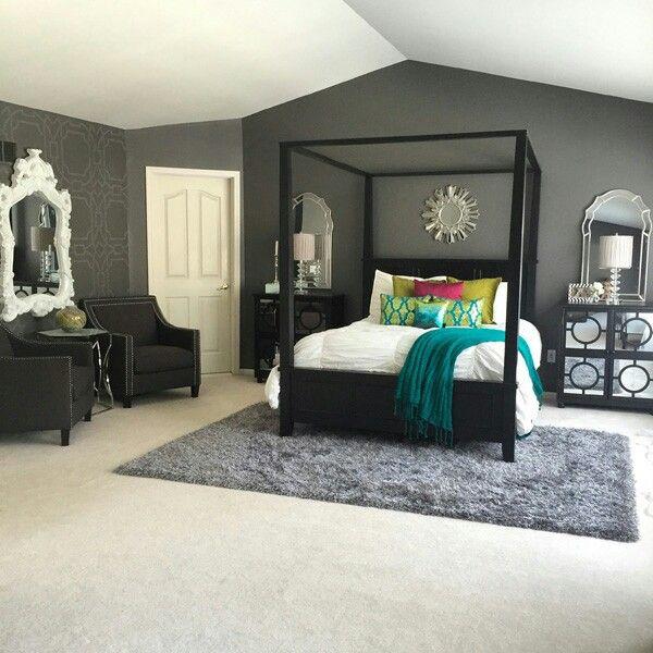 tema black and white keren buat kamar tidur kamu vintage