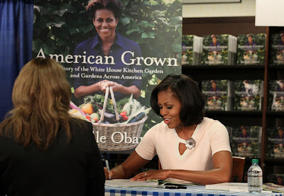 Michelle Obama Booksigning in DC