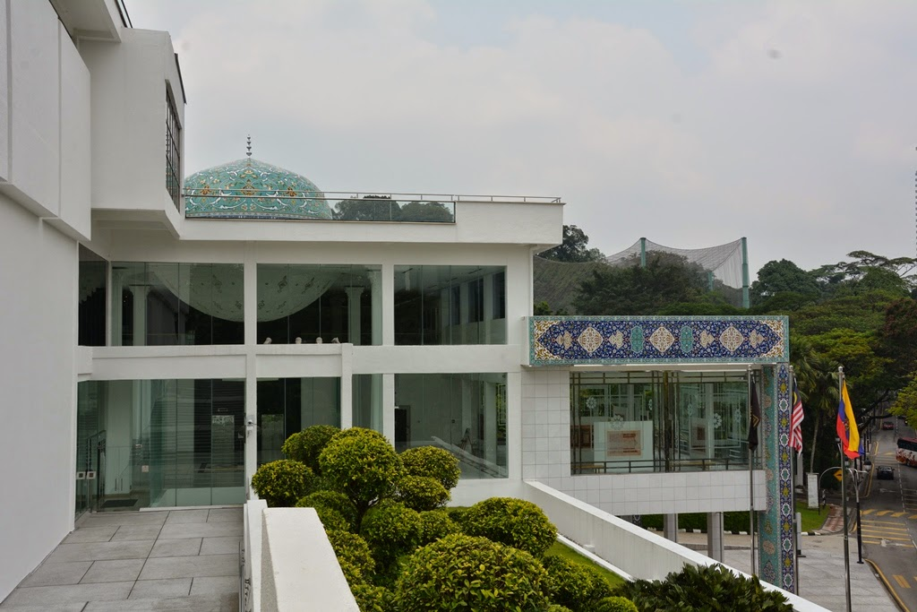 National Mosque Kuala Lumpur modern museum