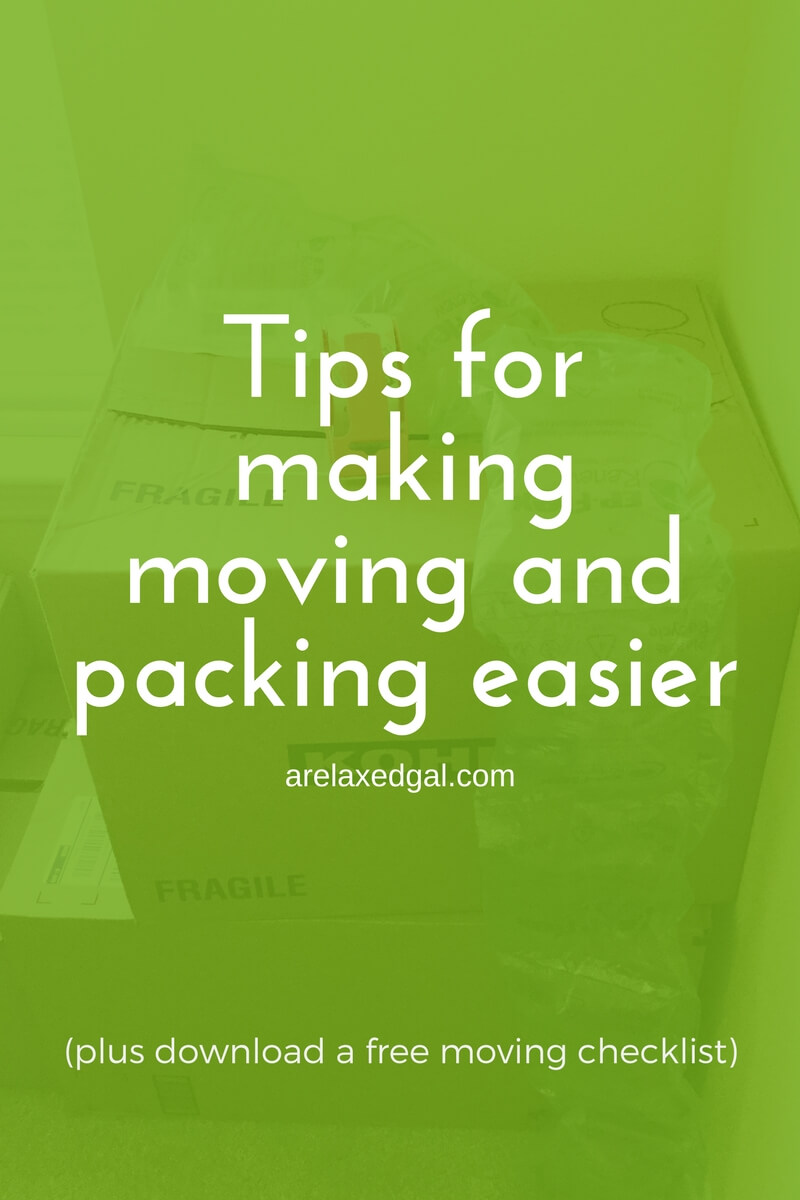 Tips for making packing and moving easier a free for Home building tips and tricks