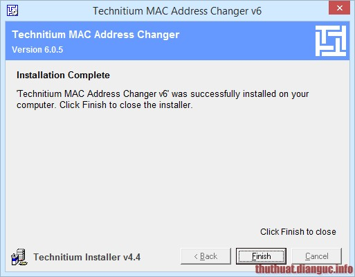 Xem và đọc địa chỉ MAC của máy tính Windows 7/ 8/ 10