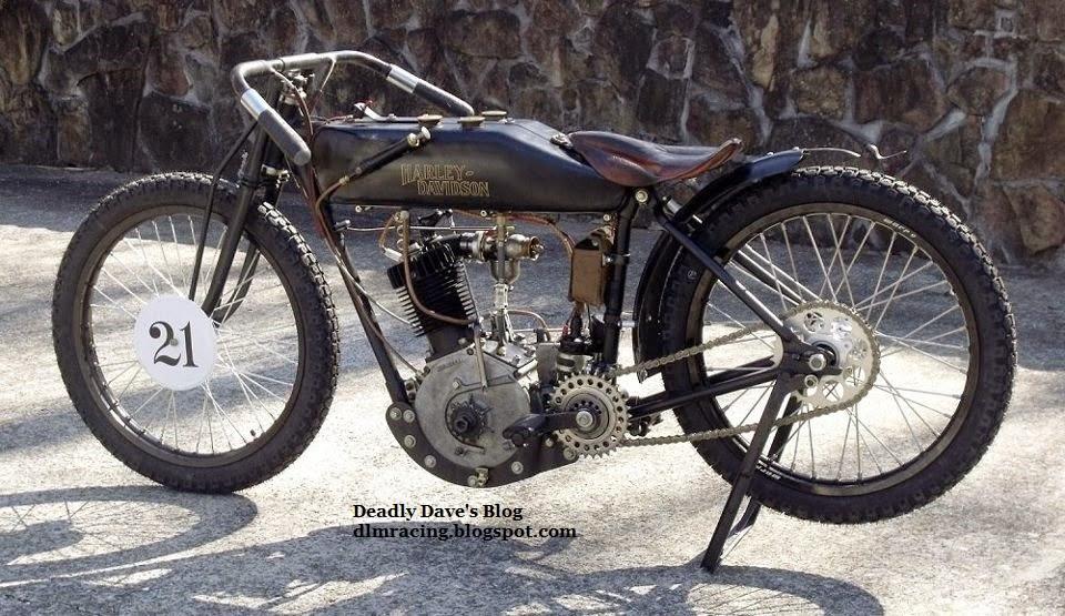 Deadly Dave's 1921 Harley-Davidson Racer