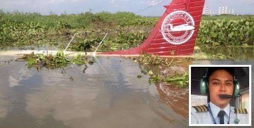 Avião cai em rio após falha no motor e piloto é resgatado com vida, veja o vídeo