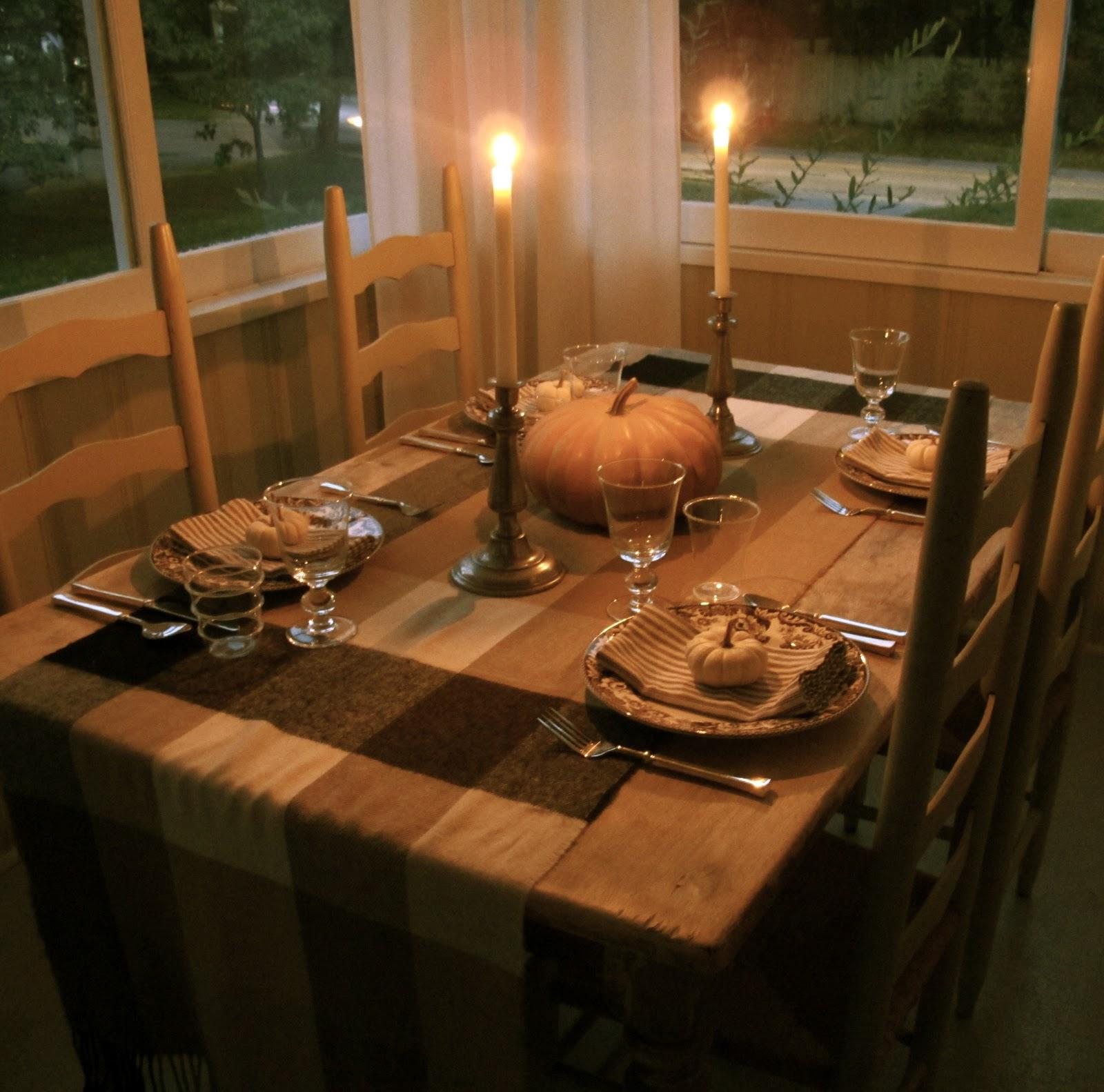Jenny Steffens Hobick Fall Table Setting Fall