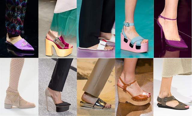 Trend scarpe P/E 2017
