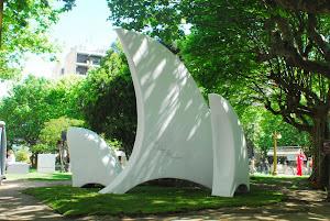 """Monumento """"Siguen Marchando... """". Horacio Dowley"""