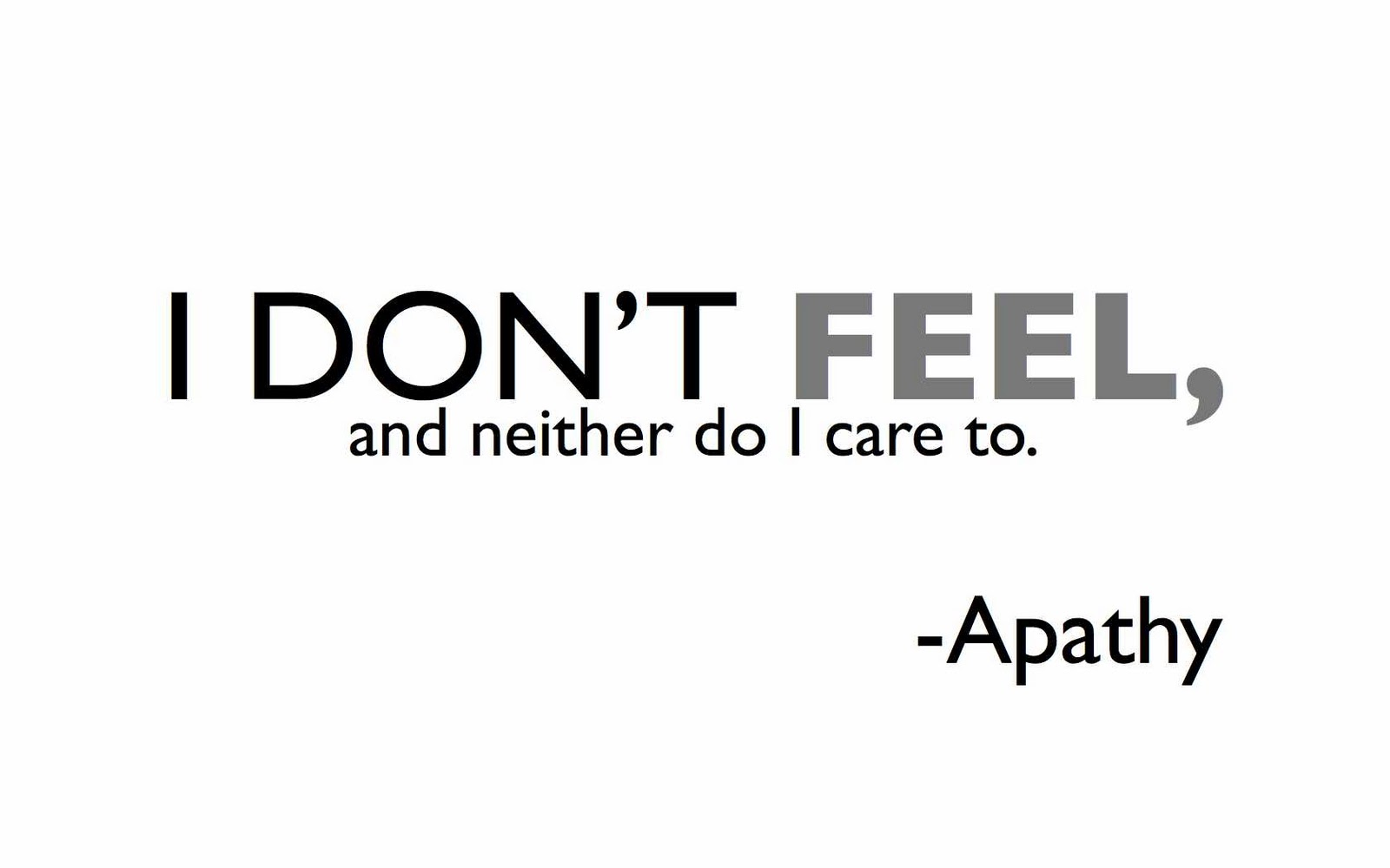 How to get rid of apathy