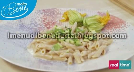 Pennette con Zucchine e Crema al Formaggio di Benedetta Parodi