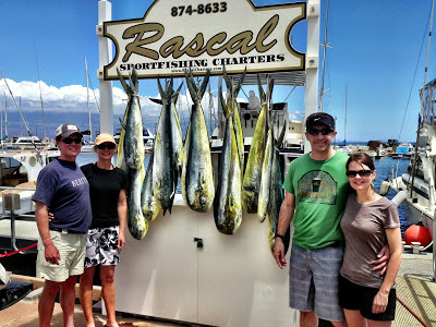 12 Mahi Mahi; Reservations for Sport Fishing in Hawaii; Call 888-841-9155