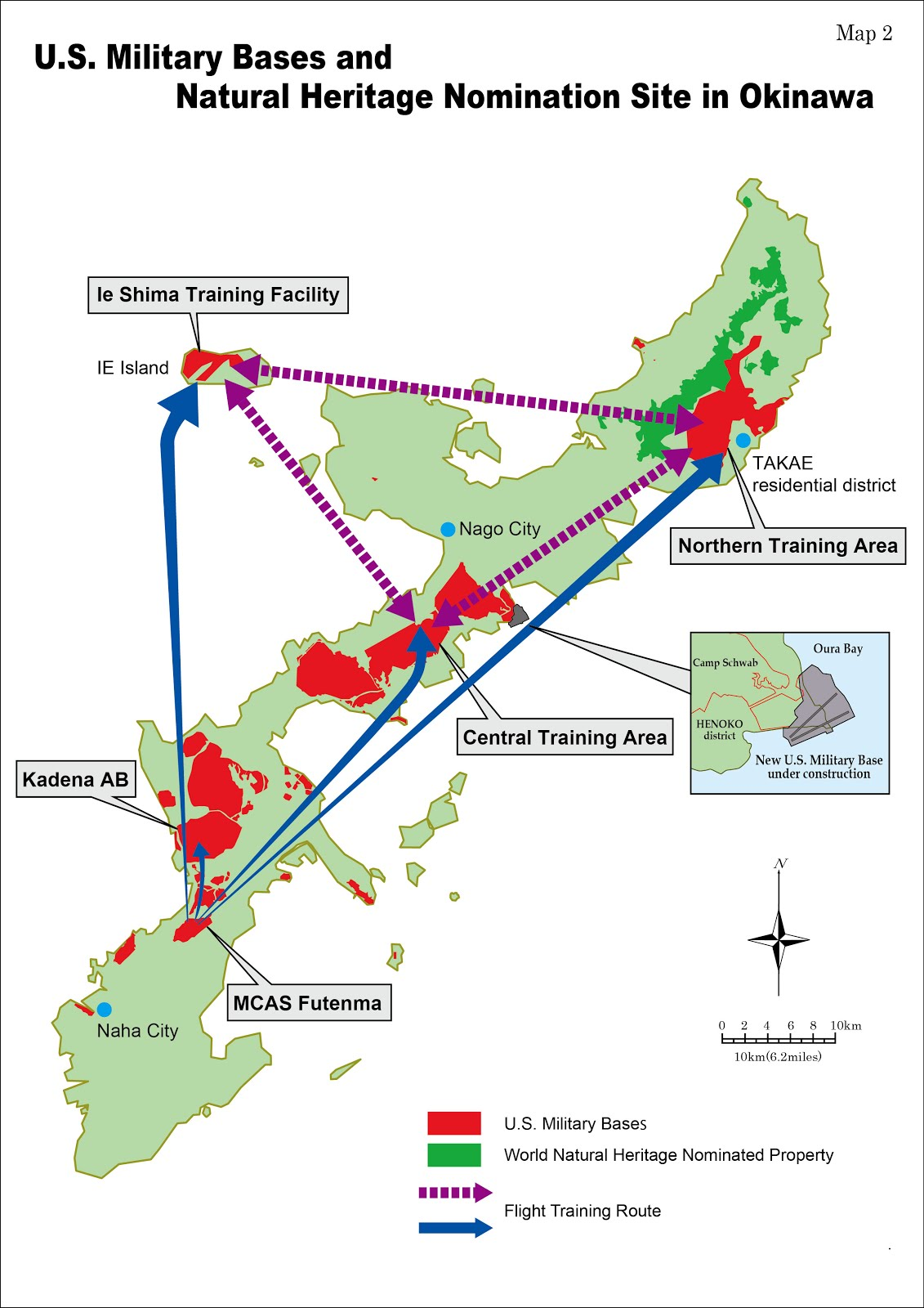 Okinawa Environmental Justice Project - Us military bases in okinawa map