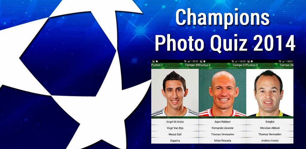 Champions League Photo Quiz 2014