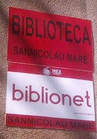 Biblioteca oraseneasca - Biblionet Sannicolau Mare
