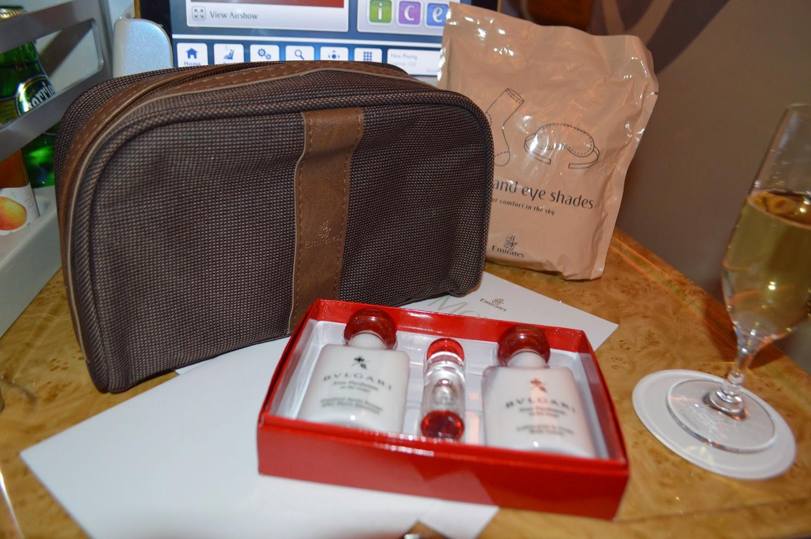 Emirates Economy Class Amenity Kit Aussie Flyer: Emirates...