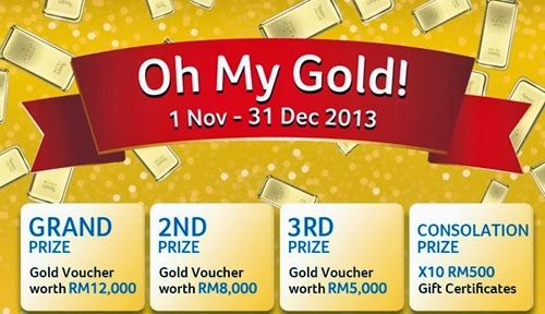 Acer Oh My Gold Contest