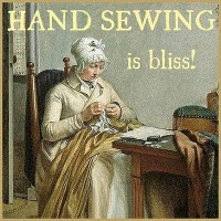 Hand Sewing is Bliss