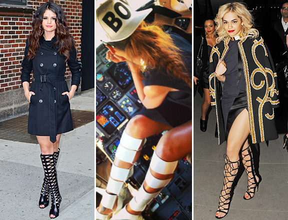 Mimosas & Heels: Knee High Gladiator Sandals