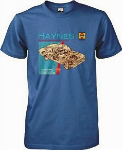 Ford Escort 1300 Mk1 Haynes Manual T-shirt