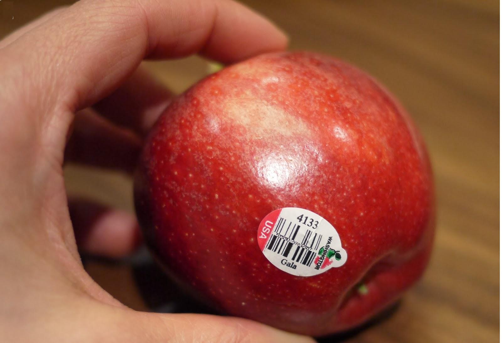 kod sticker pada buah
