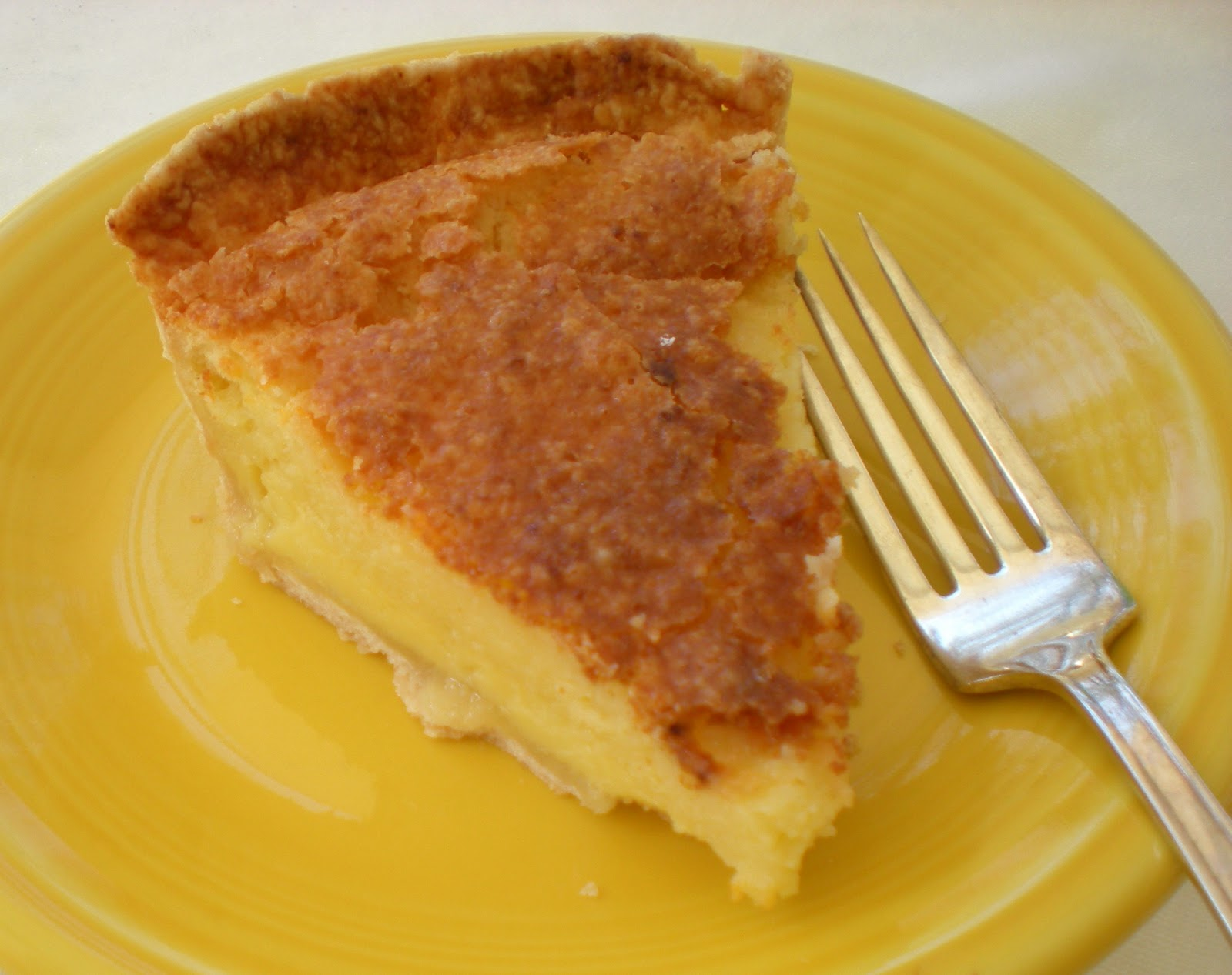 Cook and Her Books: A Southern Favorite: Buttermilk Chess Pie