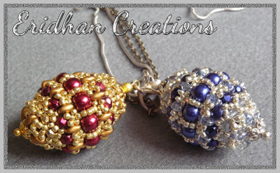 beaded pendant tutorial