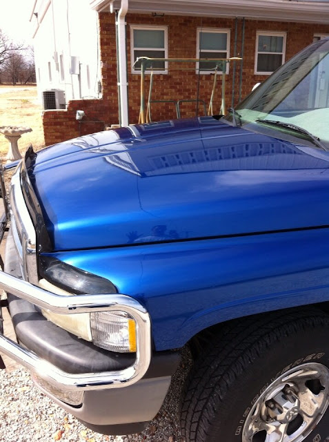 Customer Photo of 1996 Dodge Ram Truck after using Jax Wax