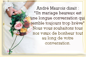 texte carte mariage - Message Felicitations Mariage