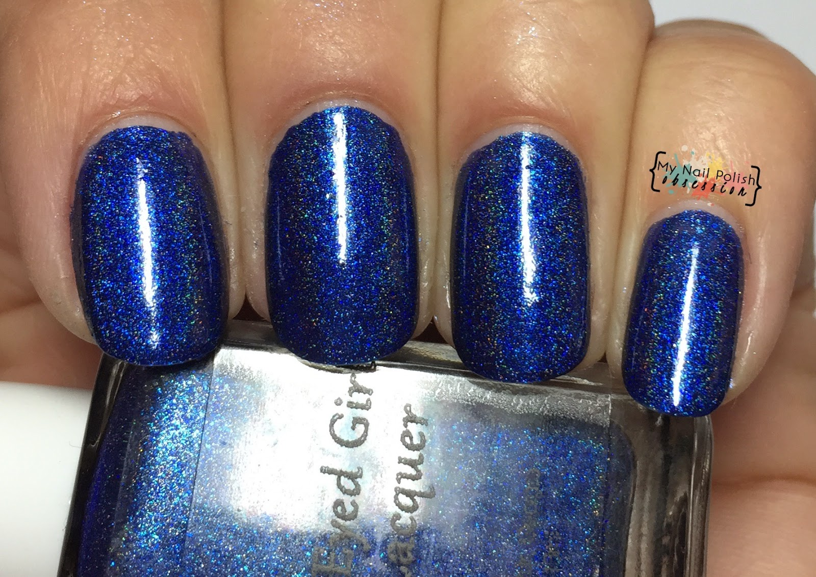 Blue Eyed Girl Lacquer Never Danced Like This Before
