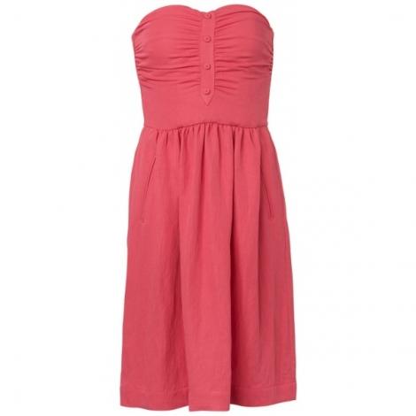 Le dressing de madame coco robe bustier comptoir des cotonniers - Robe bleue comptoir des cotonniers ...